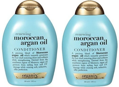Organix Moroccan Argan Oil Conditioner, 13 Oz (Pack Of 2)(384 ml)
