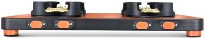 Ideale Triox-KT Steel Manual Gas Stove(3 Burners)