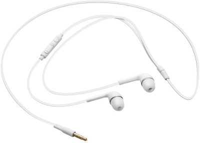 AWAKSHI EH64AWALLEGH346 Wired Headset with Mic(White, In the Ear) 1