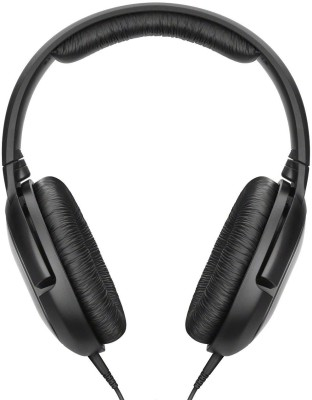 Sennheiser HD 206 Wired Headset without Mic(Black, On the Ear)