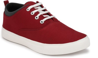 CEONA Boys Lace Sneakers(Red)