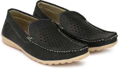 LIZAA Boys Slip on Jutis(Black)