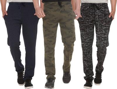 Shaun Printed Men Multicolor Track Pants