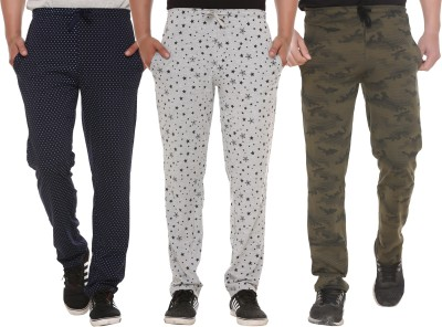 Shaun Printed Men Multicolor Track Pants
