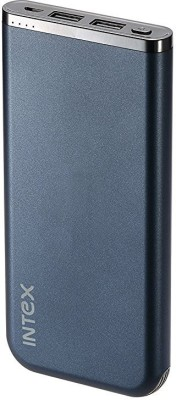 Intex 10000 mAh Power Bank (IT-PBA 10K Poly)(Blue, Lithium Polymer)