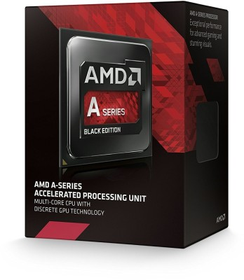 AMD 2133 FM2 A10-7860K with Radeon™ R7 Graphics and Near Silent Thermal Solution Processor(Black)
