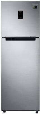 Samsung RT37M5538S8/TL 345L Double Door Refrigerator, Elegant Inox