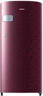 Samsung 192 L Direct Cool Single Door 2 Star Refrigerator(Ombre Red, RR19N1Y12MR-HL/RR19N2Y12MR-NL)