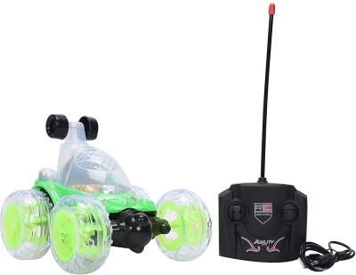 KIDLAND Stunt Car Remote Controlled Car - Green BEN 10(Green)