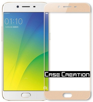 Case Creation Tempered Glass Guard for Vivo V5 Plus(Pack of 2)
