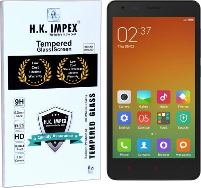 info for e062e cf47b H.K.Impex Tempered Glass Guard for MI REDMI 2 PRIME,mi redmi 2 prime  tempered glass in mobile screen guard (full body cover glass)