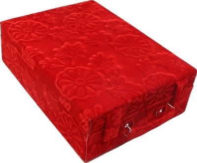 BCC Classic 4 ROLL LAGEN(RED) Churi box for Women Vanity Box(Red)  available at flipkart for Rs.400