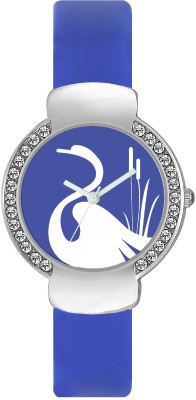 FASHION POOL VALENTIME LADIES WATCH WITH MOST STUNNING SWAN DIAL GRAPHICS ON ROUND SHAPED STAINLESS STEEL DIAL FESTIVAL SPECIAL WATCH FOR PROFESSIONAL & CASUAL WEAR Watch  - For Girls  available at flipkart for Rs.179