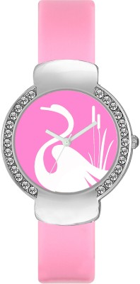 FASHION POOL VALENTIME LADIES MOST STUNNING SWAN DIAL GRAPHICS ON A OVAL SHAPED STAINLESS STEEL DIAL ULTIMATE COLLECTION OF FESTIVAL SPECIAL WATCHES FOR PROFESSIONAL & PARTY WEAR Watch  - For Girls  available at flipkart for Rs.189