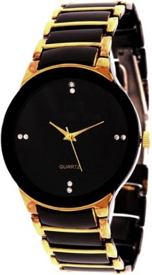 MAPA STYLE Attractive Stylish Gold Black Men Analog Watch Boys Analog Watch MPSTYLE 100 Watch  - For Men