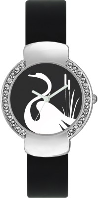 FASHION POOL VALENTIME LADIES MOST UNIQUE DIAL GRAPHICS OF SWAN ON ROUND STAINLESS STEEL DIAL FESTIVAL SPECIAL MOST STUNNING WATCH FOR PROFESSIONAL & PARTY WEAR Watch  - For Girls  available at flipkart for Rs.179