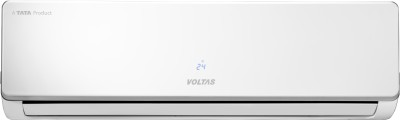 Voltas 1.5 Ton 1 Star BEE Rating 2018 Split AC  - White(181 SZS, Copper Condenser)