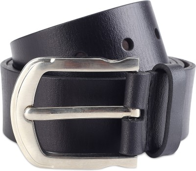 516dcf10c1a 56% OFF on Provogue Men Black Genuine Leather Belt on Flipkart |  PaisaWapas.com