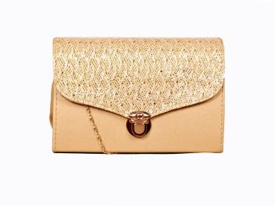 Pekian Gold Sling Bag at flipkart