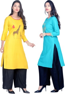 Flavia Creation Casual Embroidered Women