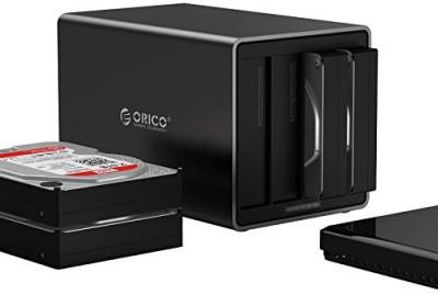 Orico NS400RC3 3 SATA(For WINDOWS, MAC, LINUS, Black)