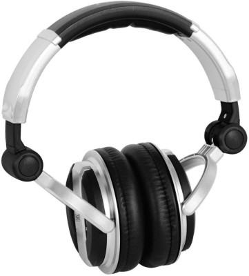 MX Value On Ear DJ Headphones - Black (DJ 1000) Wired Headset with Mic(Black, On the Ear)