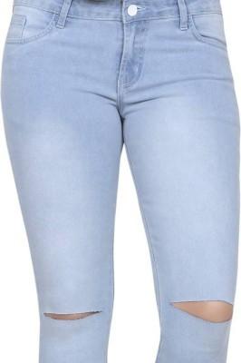 Channel f Slim Women Blue Jeans