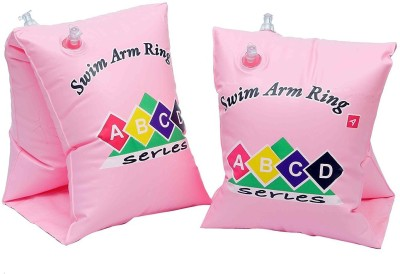 GLS Swimming Safety Inflatable Arm Band Pair - Pink Swimming Kit  available at flipkart for Rs.199