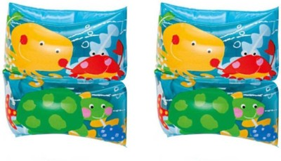 GLS Swimming Safety Inflatable Arm Band Pair - Blue Swimming Kit  available at flipkart for Rs.199