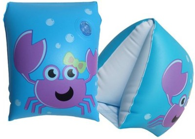 GLS Swimming Safety Inflatable Arm Band Pair - Light Blue Swimming Kit  available at flipkart for Rs.199