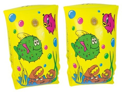 GLS Swimming Safety Inflatable Arm Band Pair - Yellow Swimming Kit  available at flipkart for Rs.199