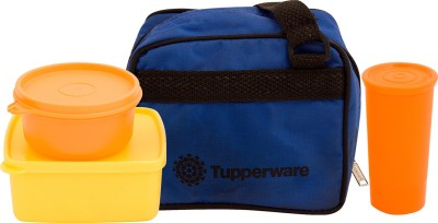 Tupperware Best Lunch Bag with 3 Containers 3 Containers Lunch Box(960 ml)  available at flipkart for Rs.995