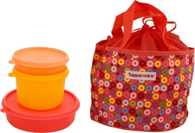 Tupperware Girls day out lunch set 3 Containers Lunch Box