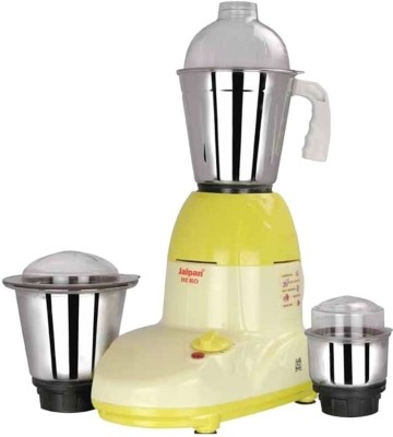 JAIPAN JPHM0071 550 Mixer Grinder(Multicolor, 3 Jars)  available at flipkart for Rs.2691