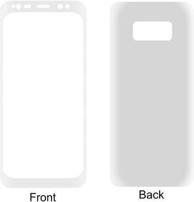 Case Creation Front and Back Screen Guard for Samsung Galaxy Note8 SMN950F(Pack of 2)
