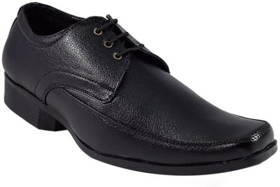 7502e550bee61c YFP YFP Formal Shoes for Men Leather formal Shoes Black Party Wear For Men (Black