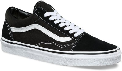 18c42f98785dd4 60% OFF on vans fashion Old Skool Classic Sneakers For Men(Black) on  Flipkart