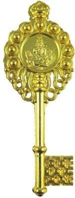 Sahaya Vastu Fengshui Kuber Kunji Key golden 4.25 inches for money & prosperity showpiece  -  9 cm(Alloy, Gold)  available at flipkart for Rs.105