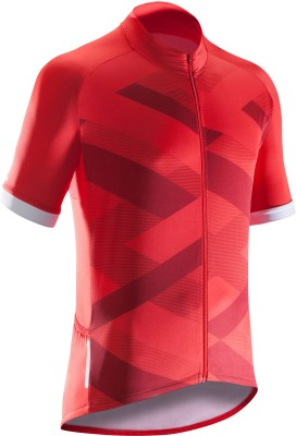 11% OFF on Btwin by Decathlon Solid Men Round Neck Red T-Shirt on Flipkart   3e732fe08