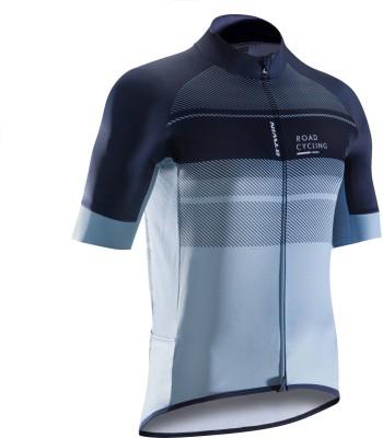 16% OFF on Btwin by Decathlon Striped Men Round Neck Dark Blue T-Shirt on  Flipkart  08b8cedb4