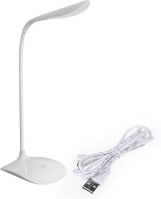VEDANT ENTERPRISES RECHARGEABLE TOUCH DIMMER Study LED Table Lamp (White) Study Lamp(30, White)  available at flipkart for Rs.411