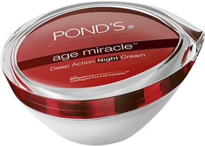 Ponds Age Miracle Deep Action Night Cream, 50g(50 g)