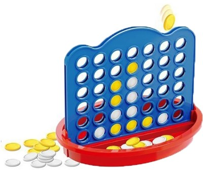 Pepperonz Creative Pattern Game Of Bingo 4 in a Line ( Connect 4 ) Game For Kids Board Game