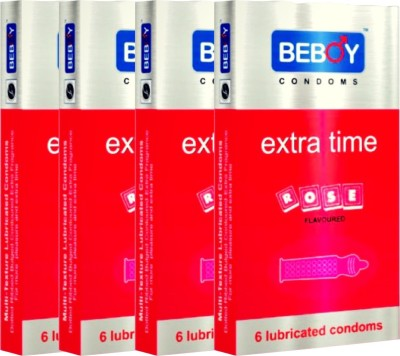 Beboy Rose Condom(Set of 4, 24S)