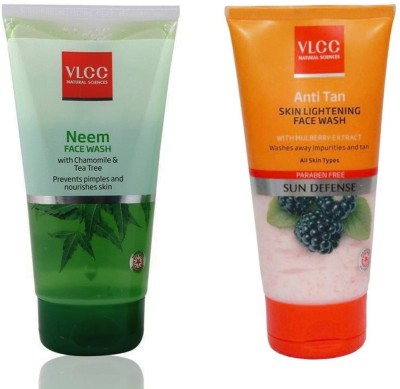VLCC Original Neem Chamomile & Tea Tree and Anti Tan Skin Lightening...