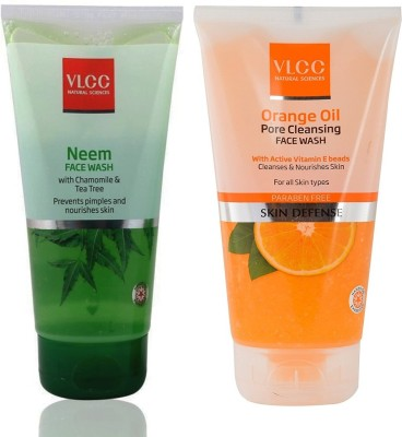 VLCC Original Neem Chamomile & Tea Tree and Orange Oil Pore Cleansing...