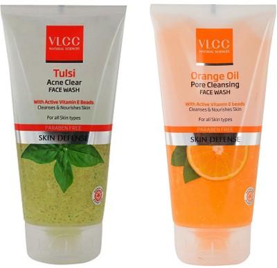 VLCC Original Tulsi Acne Clear & Orange Oil Pore Cleansing Face Wash