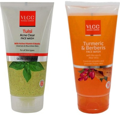 VLCC Original Tulsi Acne Clear & Turmeric&Berberis Face Wash