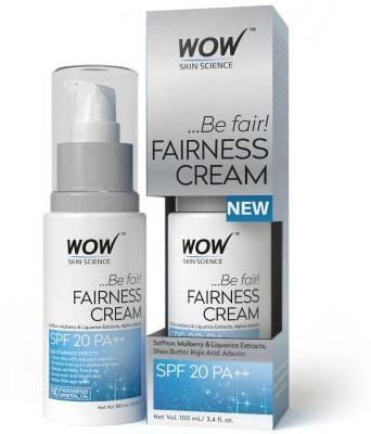 WOW Skin Science Fairness Cream - SPF 20 PA++