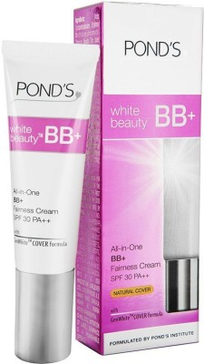 Ponds White Beauty BB+ Fairness Cream SPF 30 18g Foundation(Natural, 18 g)